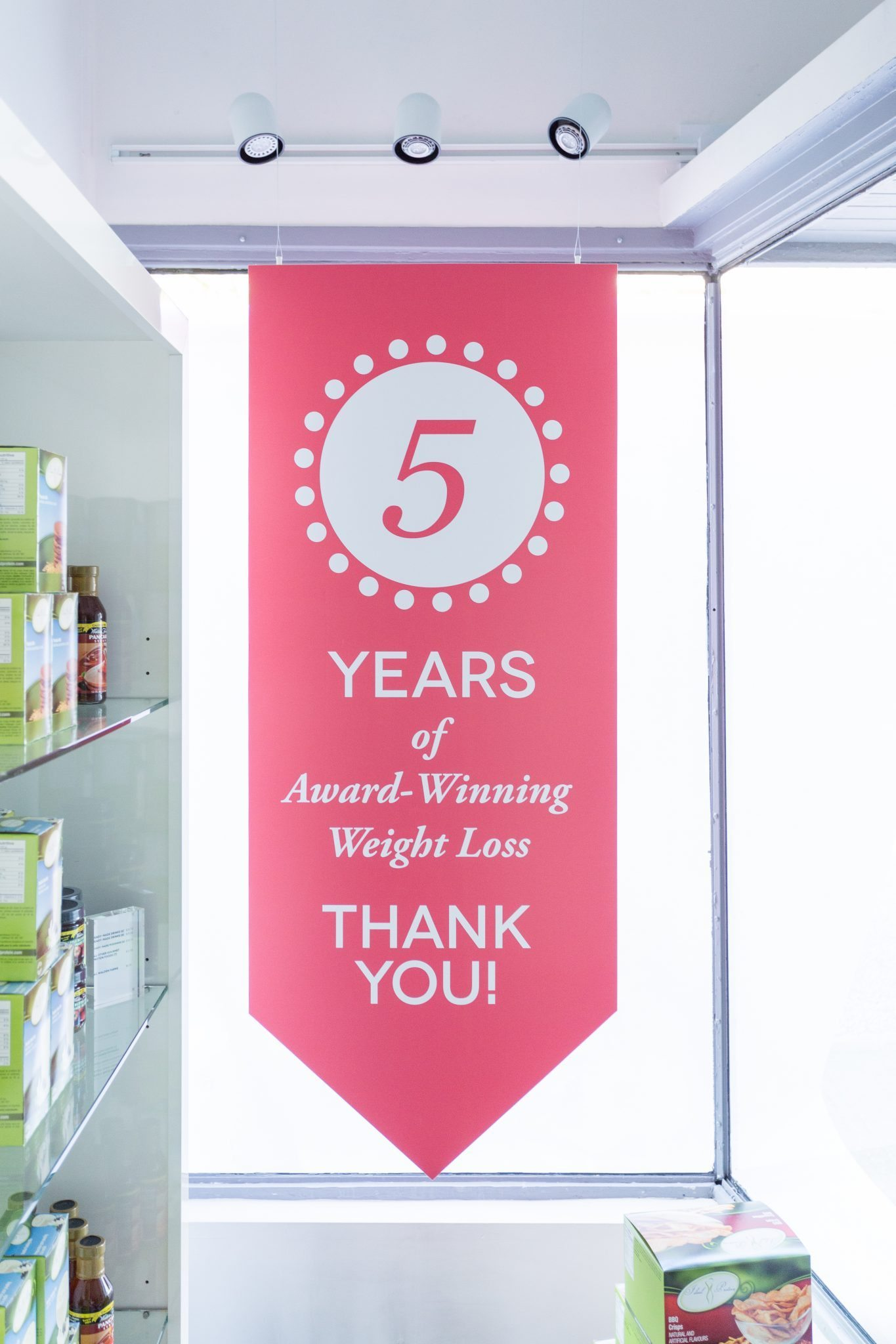 We celebrated 5 years of award winning weight loss in 2016.
