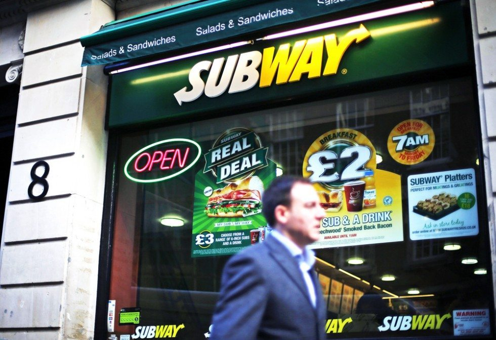 Subway ingredients not good for weight loss