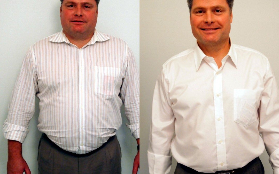 Eric's weight loss testimonial on video