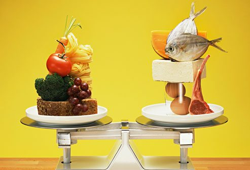 Understanding the separation of carbs and fats for weight maintenance.