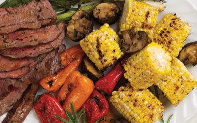 Tuscan-Style Filet Mignon With Grilled Veggies Recipe